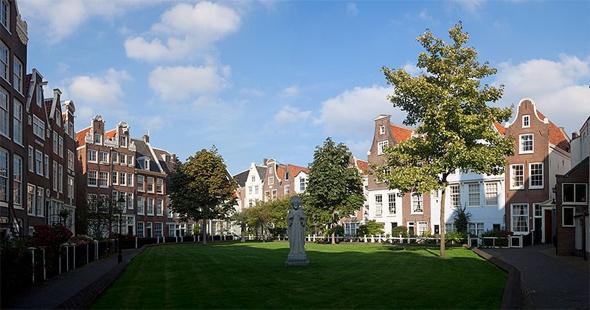 visiter Begijnhof amsterdam