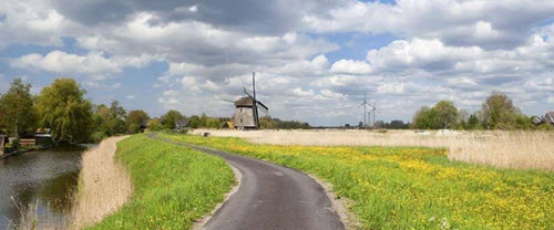La ville d'Alkmaar
