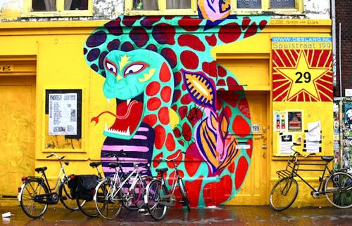 street art à Amsterdam